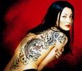 Женская татуировка - модная тенденция и древний оберег
